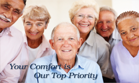 Your Comfort is Our Top Priority